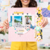 Crate Paper - Maggie Holmes - Sunny Days 12x12 chipboard matrica (51 db)