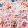 Crate Paper - La La Love domborított pufi matrica (10 db)