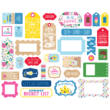 Echo Park - I Love Summer Ephemera (33 Pieces)