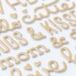 Pebbles - Nigh Night Gold Foil betűmatrica - Girl