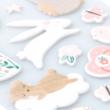Pebbles - Nigh Night Puffy Stickers - Girl