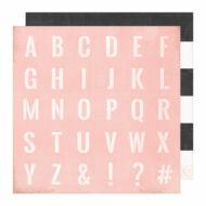 Heidi Swapp - Emerson Lane 12x12 Paper - Classic