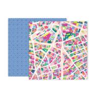 Pink Paislee - Paige Evans - Horizon 12x12 Patterned Paper - 5
