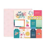 Pink Paislee - Paige Evans Whimsical 12x12 papír 01