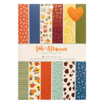 American Crafts - Amy Tangerine - Late Afternoon 6x8 Paper Pad (36 Sheets)