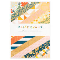 American Crafts - Paige Evans - Bungalow Lane 6x8 Paper Pad (36 Sheets)