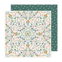 American Crafts - Maggie Holmes - Market Square 12x12 Paper - Flower Shop