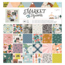 American Crafts - Maggie Holmes - Market Square 12x12 Paper Pad (48 Sheets)