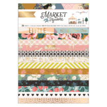 American Crafts - Maggie Holmes - Market Square 6x8 Paper Pad (24 Sheets)