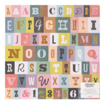 American Crafts - Maggie Holmes - Market Square 12x12 Specialty Paper