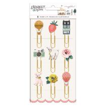 American Crafts - Maggie Holmes - Market Square Epoxy Paper Clips (9 Piece)