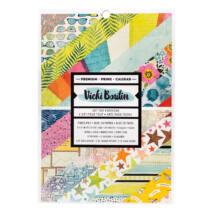 American Crafts - Vicki Boutin - Let's Wander - 6x8 Double-Sided Paper Pad (24 Sheets)
