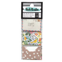 American Crafts - Vicki Boutin - Let's Wander - Mini Envelopes with Cards