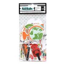 American Crafts - Vicki Boutin - Let's Wander - Ephemera (50 Piece)