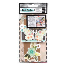 American Crafts - Vicki Boutin - Let's Wander - Tags and Journal (12 Piece)