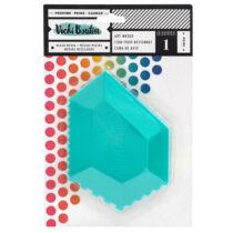 American Crafts - Vicki Boutin - Color Kaleidoscope Silicon Art Wedge