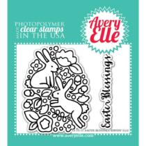 Avery Elle Clear Stamp - Easter Blessings