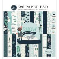 Carta Bella - Snow Much Fun 6x6 Double-Sided Paper Pad (24 sheets)