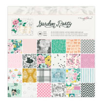 American Crafts - Maggie Holmes - Garden Party 12x12 Paper Pad (48 Sheets)