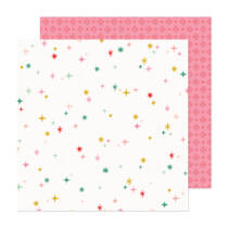 Crate Paper - Hey, Santa 12x12 Paper - Wish List
