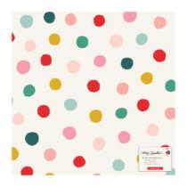 Crate Paper - Hey, Santa 12x12 Specialty Vellum Paper - Gumdrop
