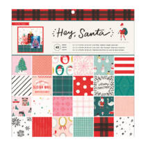 Crate Paper - Hey, Santa 12x12 Paper Pad (48 Sheets)