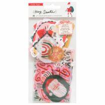 Crate Paper - Hey, Santa kivágat (40 db)