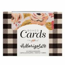 Crate Paper - Maggie Holmes - Marigold Boxed Cards Set (40 Cards and 40 Envelopes)