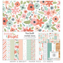 Cocoa Vanilla Studio - Merry & Bright 12x12 Paper Pack