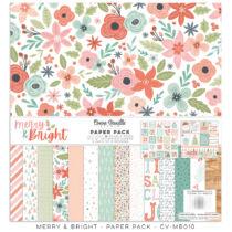 Cocoa Vanilla Studio - Merry & Bright 12x12 Paper Pack