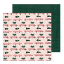 Crate Paper - Snowflake 12x12 scrapbook papír - Very Merry
