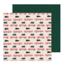 Crate Paper - Snowflake 12x12 Patterned Paper - Very Merry