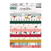 Crate Paper - Snowflake 6x8 Paper Pad (24 sheets)