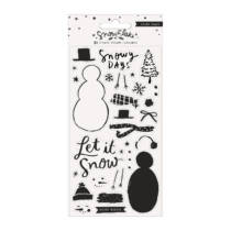 Crate Paper - Snowflake Clear Stamp Set (31 Piece)