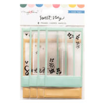 Crate Paper - Maggie Holmes - Sweet Story Puffy Frames (8 Piece)