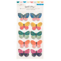Crate Paper - Maggie Holmes - Sweet Story Layered Butterflies (10 Piece)