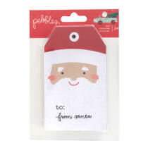 Pebbles - Merry Little Christmas Tag Pad (36 Piece)