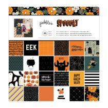 Pebbles - Spoooky 12x12 Paper Pad (36 Sheets)