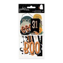 Pebbles - Spoooky Ephemera - Phrase (40 Piece)