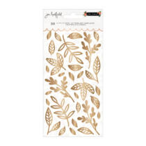 Pebbles - The Avenue Puffy Leaves Sticker (30 Piece)