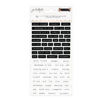 Pebbles - The Avenue Puffy Phrase Sticker (70 Piece)