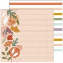 Pinkfresh Studio - Days of Splendor 12x12 Paper - Fall in love