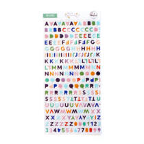 Pinkfresh Studio - Days of Splendor Mini Alphabet Sticker