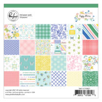 Pinkfresh Studio - Happy Blooms 6x6 paper pad
