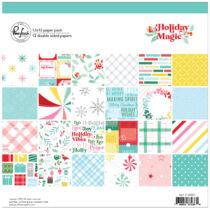 Pinkfresh Studio - Holiday Magic 12x12 Paper Pack