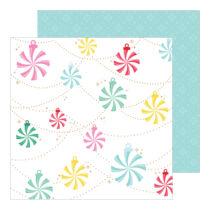 Pinkfresh Studio - Holiday Magic 12x12 Paper - Holiday vibes
