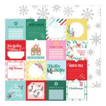Pinkfresh Studio - Holiday Magic 12x12 Paper - 'Tis the Season