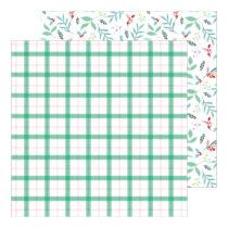 Pinkfresh Studio - Holiday Magic 12x12 Paper - Good Cheer