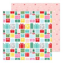 Pinkfresh Studio - Holiday Magic 12x12 Paper - Greatest Gift