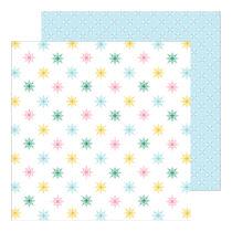 Pinkfresh Studio - Holiday Magic 12x12 Paper - Wonder and Peace